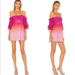 Lovers + Friends | Camila Ombre Off Shoulder Dress